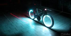 Interactive Bike Motion Light and Display