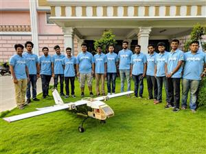 SRM UAV - Unmanned Air Vehicles Team SRMIST