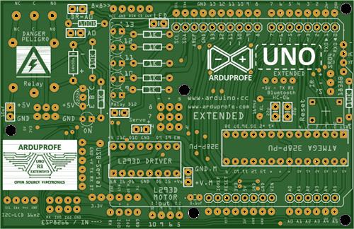 Arduprofe Arduino Uno Extended