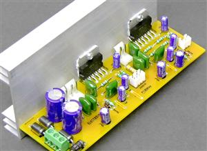 3 Channel Audio Amplifier Board with TDA7265 IC DIY_ELECTROINDIA