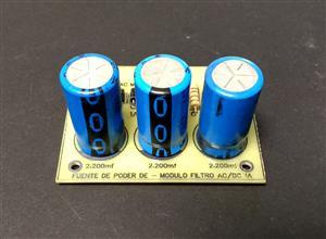 Fuente de poder de voltaje fijo de 1A - Módulo filtro AC/DC