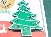 Christmas Tree Neopixel PCB