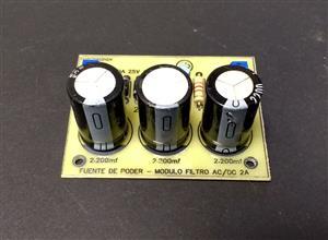 Fuente de poder de voltaje fijo de 2A - Módulo filtro AC/DC