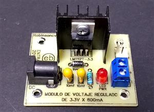 Módulo de voltaje regulado de 5V x 1.5A con el LM7805 - JACK