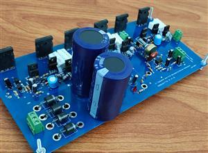 2.1 Subwoofer Amplifier using transistor 2SC5200