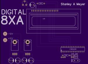 Stanley A Meyer 8XA Digital Board V1 2019