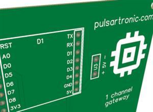 LoRa Gateway Single Channel ESP8266 Arduino