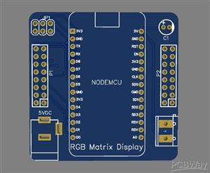 RGB LED MATRIX DISPLAY