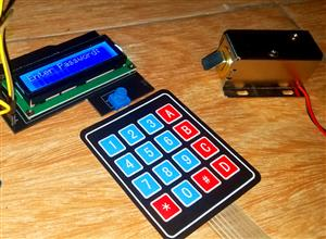 Password Door Lock Security System using Arduino and Keypad