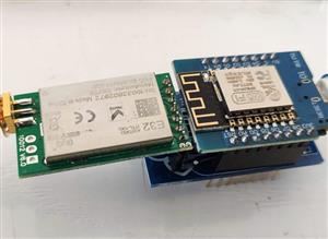 LoRa E32 Series device WeMos D1 mini shield RF 8km range