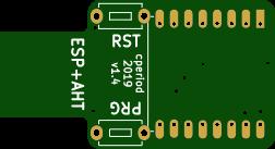 Minimalist ESP-8266 temperature, humidity sensor, programmer.