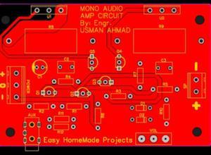 200W Audio Amp