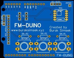 Arduino Fm Radio Shield