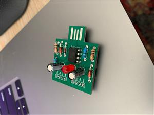 Mini-USB-Arduino Digispark compatible board