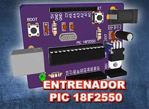 Entrenador PIC 18F2550