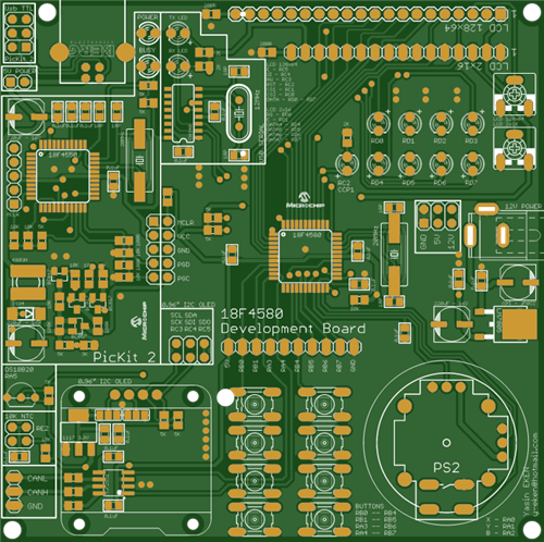 18F4580 Development Boards