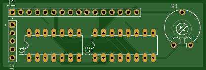 SPI LCD HD44780 chipset