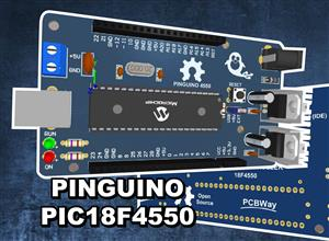 Pinguino PIC18F4550