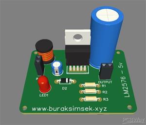 LM2575 5V Card