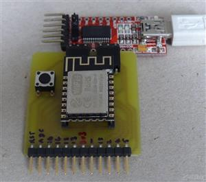 ESP-12E and ESP-12F Programming and Development Board