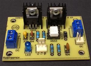 Control de potencia de 5V a 30V DC x 2A
