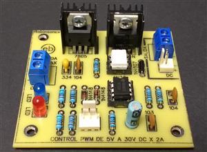 Control PWM de 5V a 30V DC x 2A - KF301