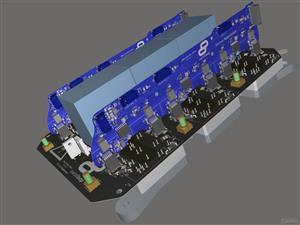 High Power Inverter for Swissloop Pod
