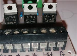 Driver di Potenza 3 Canali Per micro-controllori Arduino