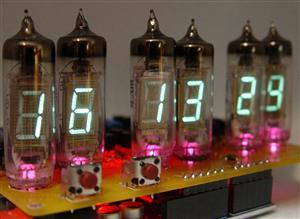 IV-3, IV-6 VFD display clock Shield for Arduino