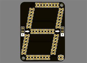 Big 7 Segment Display [addressable]