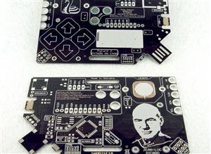 PYcARD (Jean-Luc) - Python+Arduino in card shape