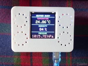 Mini Weather Station Using Arduino Nano