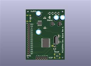 PIC16F84A Development Board