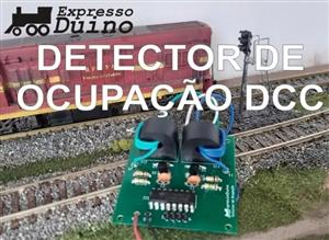 Detector de Ocupacao DCC - 2 Sensores