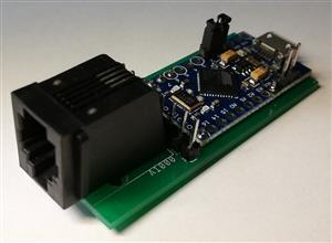 Amiga 1000 / 500 Keyboard USB adapter