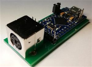 Amiga CDTV / 500 Keyboard USB adapter