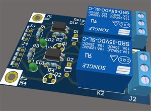 5v Arduino Relay module - 2 Channel (DIP COMPONENTS)