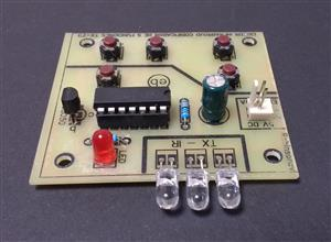 EMISOR infrarrojo de 5 funciones con el TX-2B
