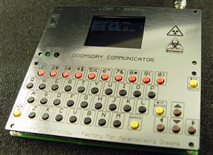 ARMACHAT - Doomsday LORA QWERTY communicator