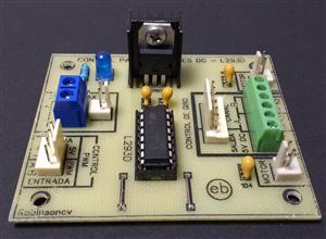 Módulo de control para 2 motores DC con el L293D