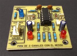 Módulo PWM de 2 canales con el NE556