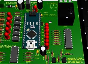 PLC Arduino NANO programable en Ladder