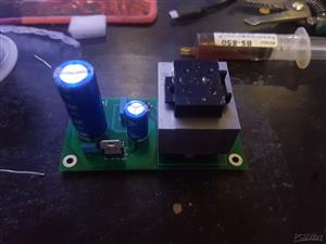 DC Power supply for guitar stompboxes