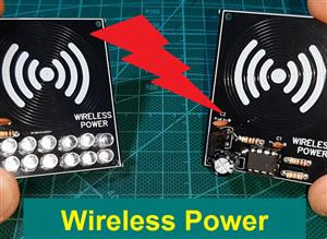 Wireless Power Transmitter With printed Coil on the PCB (Receiver part)