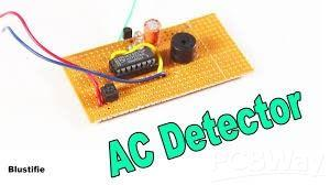 Wire Less AC CURRENT DETECTOR PCBWAY