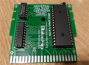 Universal C64 1MB cartridge