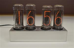 Nixie clock на индикаторах ИН-18, IN-18