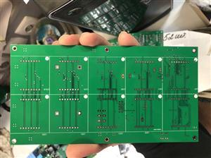 Led module, running line