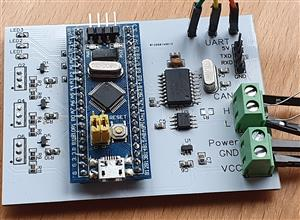 CAN Bus Radio Adapter Board