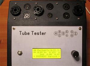 DIY Vacuum Tube Tester